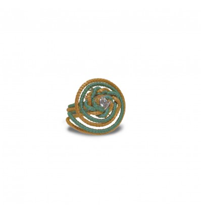 EMERALD DAY  RING